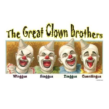 THE GREAT CLOWN BROTHERS T-SHIRT Image
