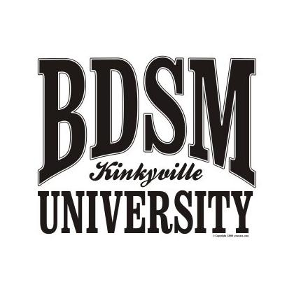 BDSM UNIVERSITY T-SHIRT Image