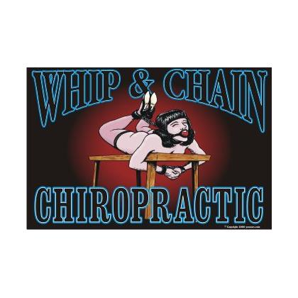 WHIP & CHAIN CHIROPRACTIC T-SHIRT Image