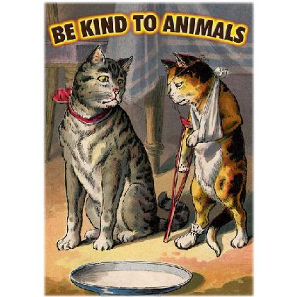 BE KiND TO ANIMALS T-SHIRT Image