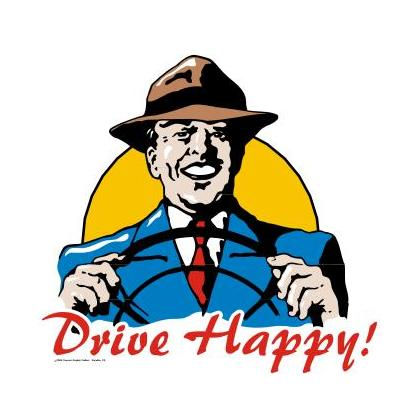 DRIVE HAPPY T-SHIRT Image
