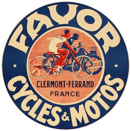 FAVOR CYCLES & MOTOS T-SHIRT Image