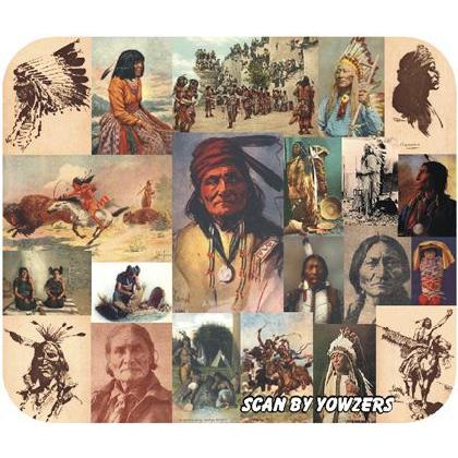 AMERICAN INDIANS of YESTERYEAR T-SHIRT Image