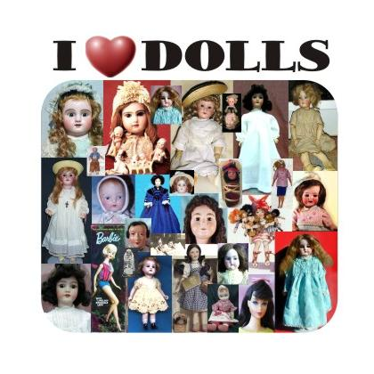 I LOVE DOLLS T-SHIRT Image