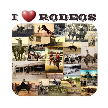 I LOVE RODEOS T-SHIRT Image