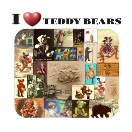 I LOVE TEDDY BEARS T-SHIRT Image