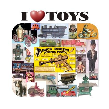 I LOVE TOYS T-SHIRT Image
