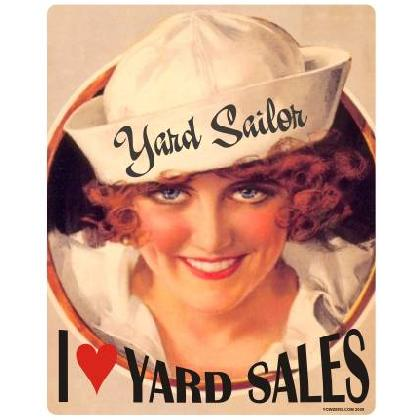 I LOVE YARD SALES T-SHIRT Image