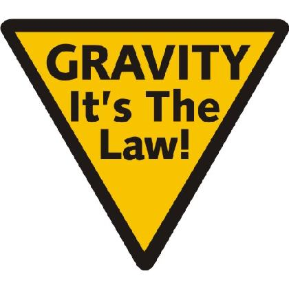 GRAVITY - IT'S THE LAW! T-SHIRT Image