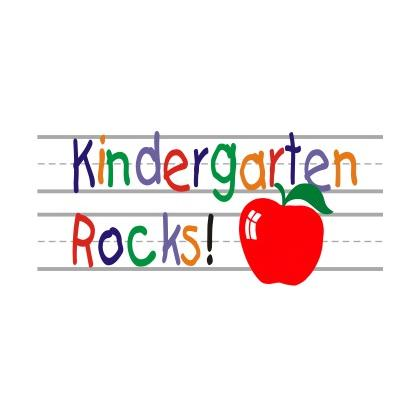 KINDERGARTEN ROCKS T-SHIRT Image
