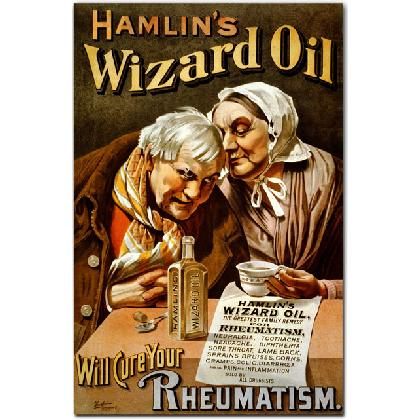 HAMLIN'S WIZARD OIL T-SHIRT Image