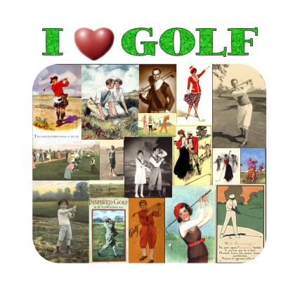 I LOVE GOLF T-SHIRT Image