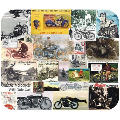 MOTORCYCLES of YESTERYEAR Image