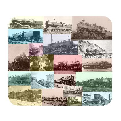Great Steam Trains of Yesteryear Image