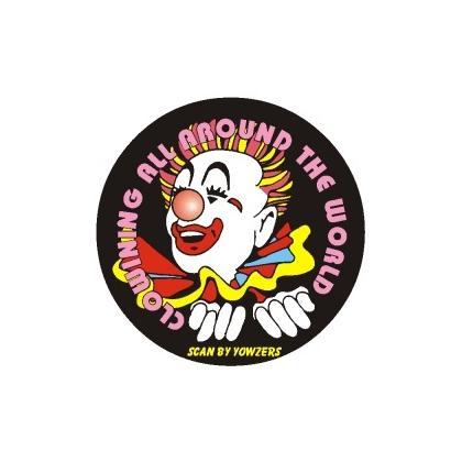ROUND CLOWN MOUSEPAD Image