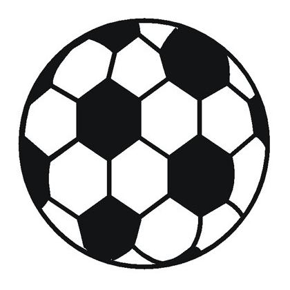 SOCCER BALL ROUND MOUSEPAD Image
