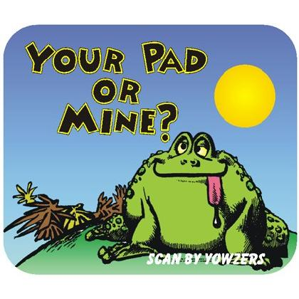 YOUR PAD OR MINE T-SHIRT Image