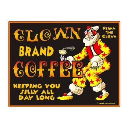 CLOWN BRAND COFFEE T-SHIRT Image
