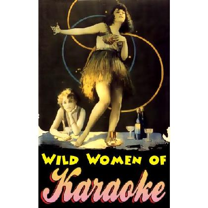 WILD WOMEN OF KARAOKE T-SHIRT Image