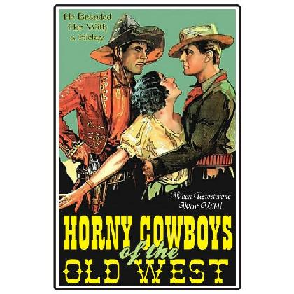 HORNY COWBOYS OF THE OLD WEST T-SHIRT Image