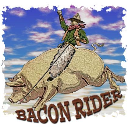 BACON RIDER T-SHIRT Image