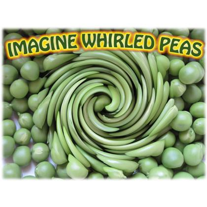 IMAGINE WHIRLED PEAS T-SHIRT Image