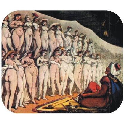 18th Century Erotic Painting Mousepad Image
