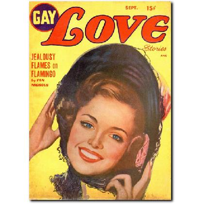 1949 GAY LOVE STORIES T-SHIRT Image