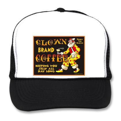 CLOWN BRAND COFFEE BB CAP Image