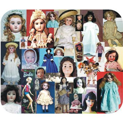 ANTIQUE & COLLECTIBLE DOLLS Image