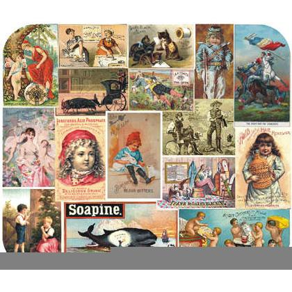 VINTAGE ADVERTISING CARDS Image
