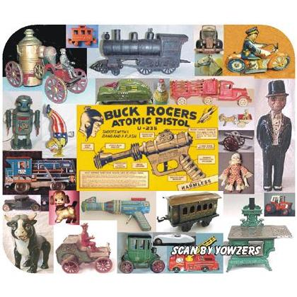 ANTIQUE & COLLECTIBLE TOYS Image