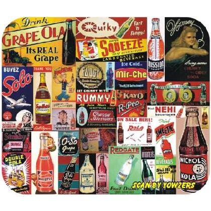 SODA & BEVERAGES of YESTERYEAR Image