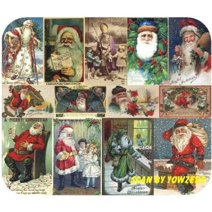 SANTA CLAUS POSTCARDS #2 Image