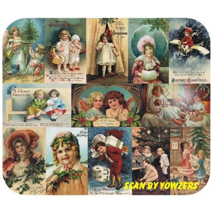 VICTORIAN CHRISTMAS CARDS Image