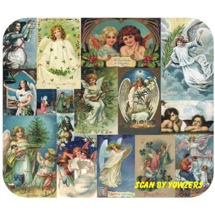 Vintage HOLIDAY ANGELS Image