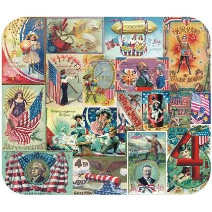 VINTAGE 4th of JULY POSTCARDS Image