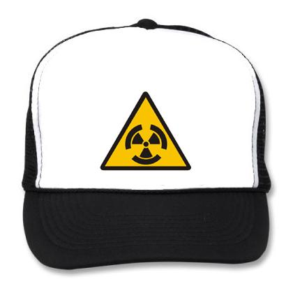 RADIATION WARNING BB CAP Image