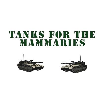 TANKS FOR THE MAMMARIES T-SHIRT Image