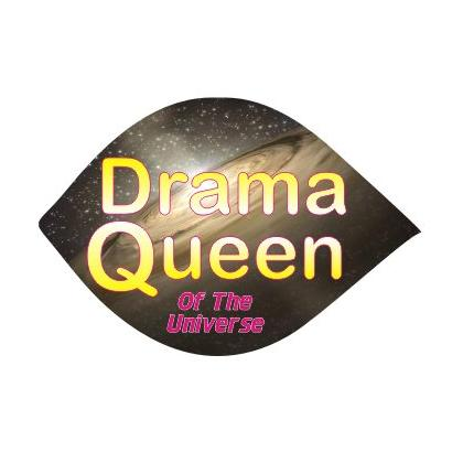 DRAMA QUEEN OF THE UNIVERSE T-SHIRT Image