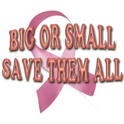 BIG OR SMALL SAVE THEM ALL T-SHIRT Image