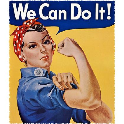 ROSIE THE RIVETER WE CAN DO IT! T-SHIRT Image