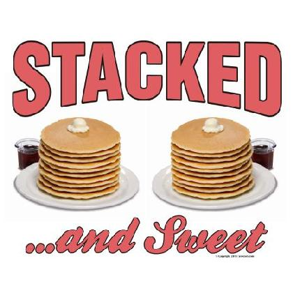 STACKED AND SWEET T-SHIRT Image