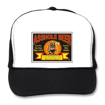 ASSHOLE BEER BB CAP Image