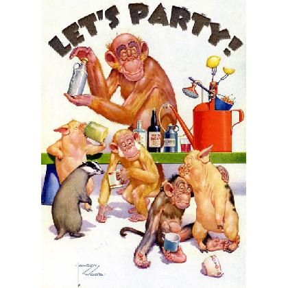 LET'S PARTY T-SHIRT Image