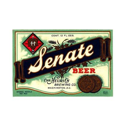 SENATE BEER LABEL T-SHIRT Image