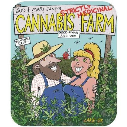 CANNABIS FARM T-SHIRT Image