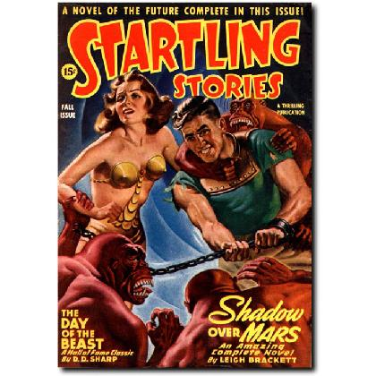 STARTLING STORIES T-SHIRT Image