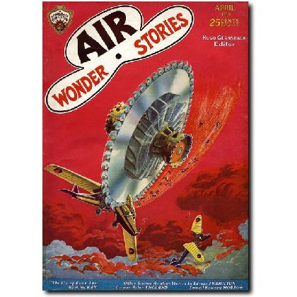 AIR WONDER STORIES T-SHIRT Image