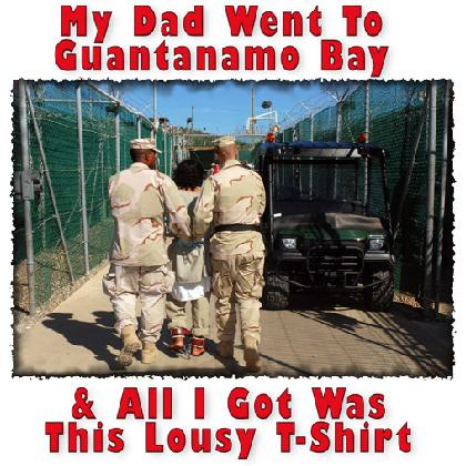 MY DAD WENT TO GUANTANAMO T-SHIRT Image